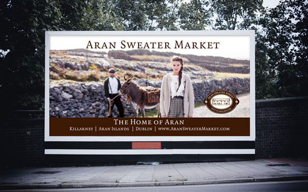Aran Sweater Market Billboard