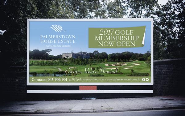 Palmerstown House Gold Billboard