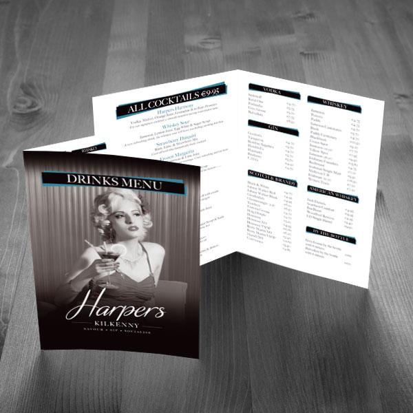 HARPERS-MENU